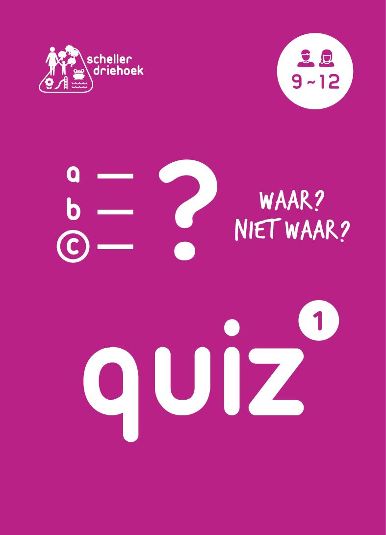 educatieve kaarten schellerdriehoek quiz